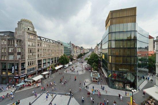 Prague Inn : Hotel view