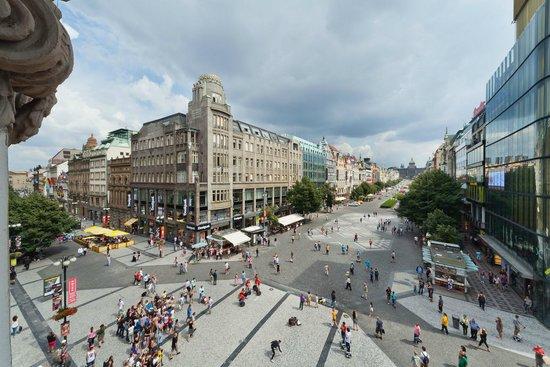 Prague Inn: Hotel view