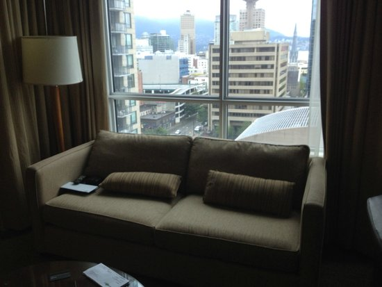 Westin Grand Vancouver : View from the living room