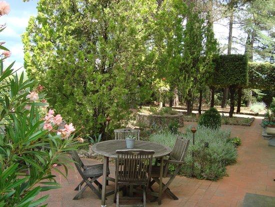Villa del Pino: Frühtsücksarea