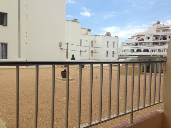 AluaSoul Ibiza: view from 1st room balcony