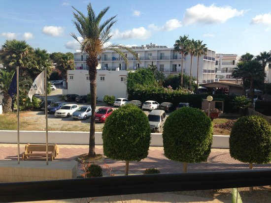 AluaSoul Ibiza: view from second room balcony