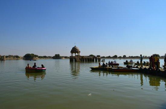 Gadsisar Sagar Lake: gadhisar lake...