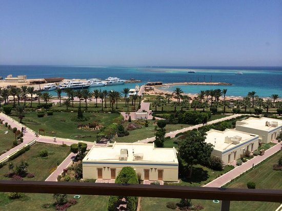 Hilton Hurghada Plaza: Beautiful landscape
