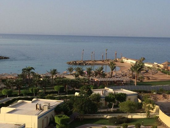 Hilton Hurghada Plaza: Sea view