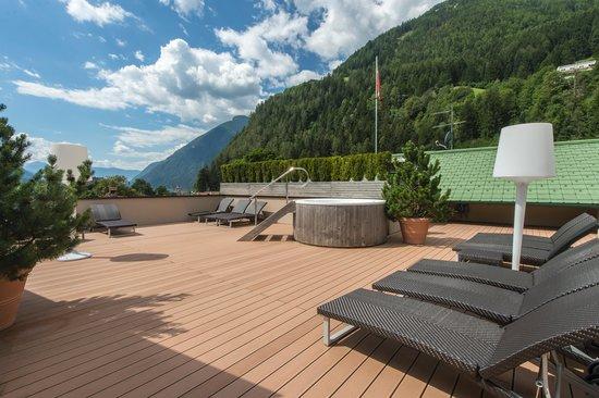 Hotel Drumlerhof: Dachterrasse