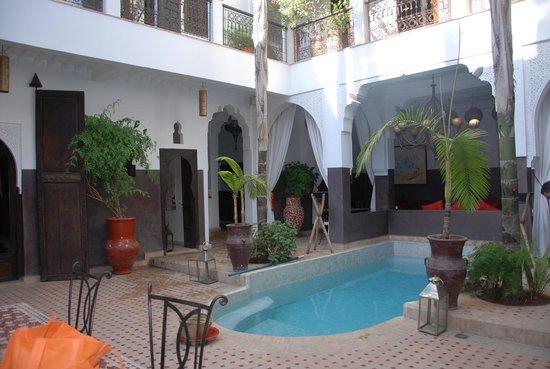 Riad Pachavana: Outdoor area