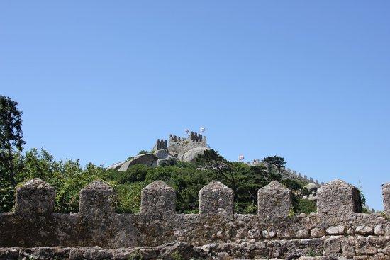 Castle of the Moors : Замок мавров. Синтра. Гид в Мадриде.