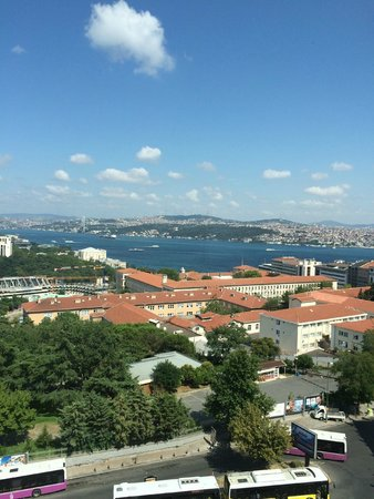 Gezi Hotel Bosphorus : View from 1104