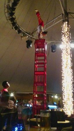 Hotel Coronas Playa: One of many nights of entertainment