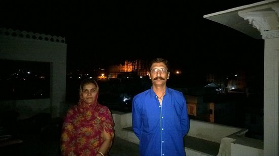 Kotra Haveli: Night view fromroof  top