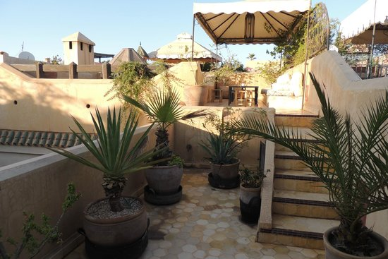 Riad Dar Bamileke : Heerlijk dakterras
