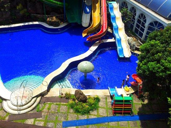 Grand Paradise Hotel Lembang : water park @ Grand Paradise