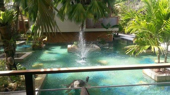 Dhevatara Beach Hotel : Fontaine