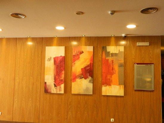Hotel Principe Lisboa: corridoi