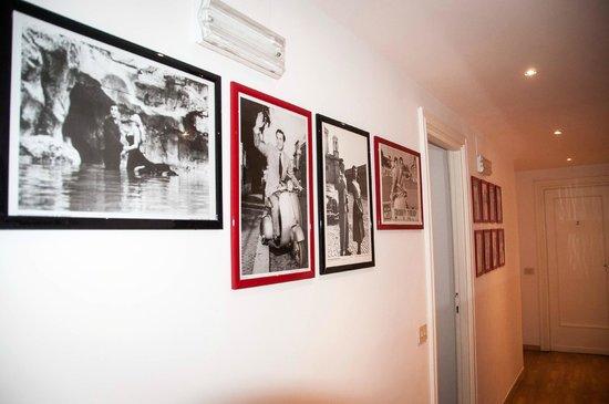 B&B La Roma di Camilla: Foto Corridoio