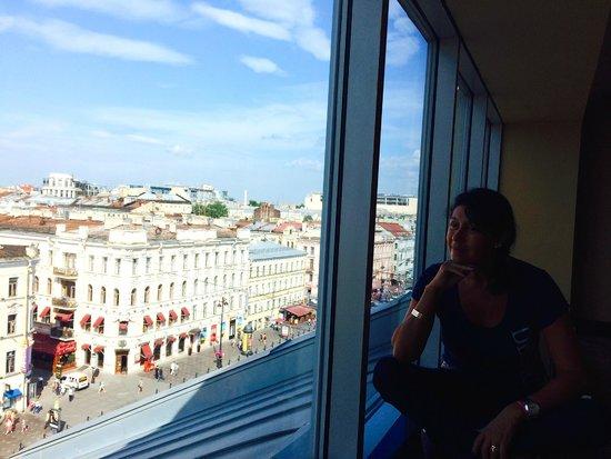 Corinthia Hotel St. Petersburg: Vue du couloir à côté de la chambre