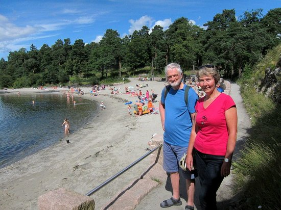 Bygdoy Peninsula: The first beach, only 15 min. walk from Skøyen