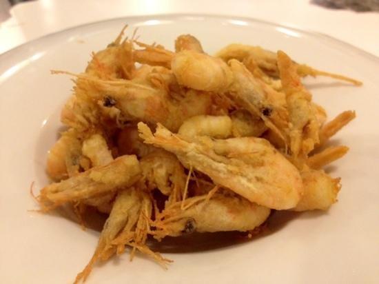 Barquet : gamberetti fritti (divinamente)