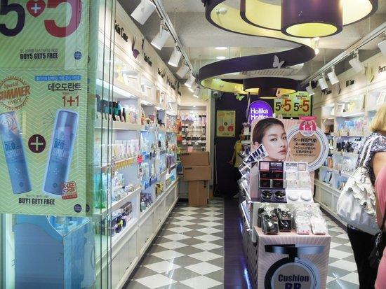 Shopping à Myeongdong : косметика