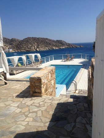 Ios Palace Hotel: upper pool