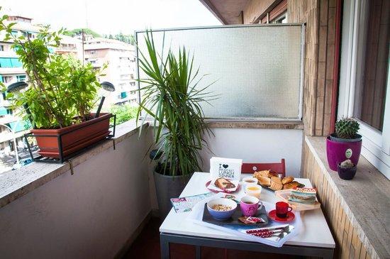 B&B La Roma di Camilla: Breakfast time!