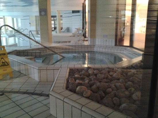 Forges Hotel : Jaccusi