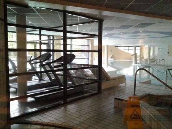 Forges Hotel : salle de fitness, piscine