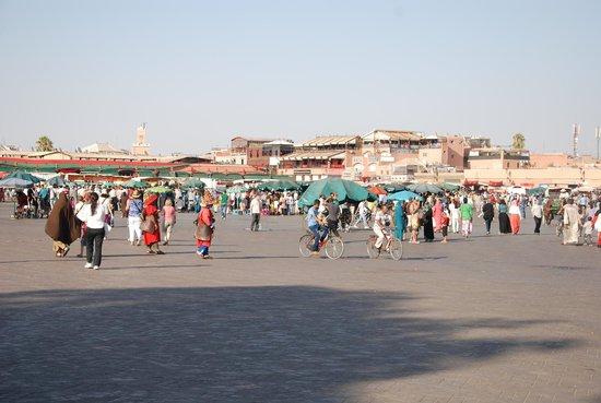 Suq von Marrakesch: square