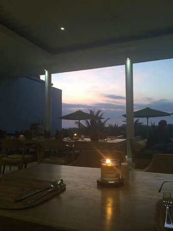 Svarga Resort Lombok : view from dining area