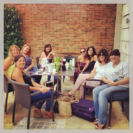 Club Quarters Hotel, Lincoln's Inn Fields: Ladies who lunch