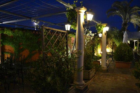 La Gloria: Terraza noche