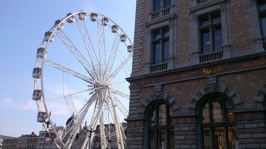 Bahnhof Antwerpen-Centraal: Wheel