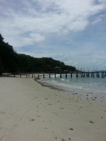Ao Cho Grandview Hideaway Resort : Beach