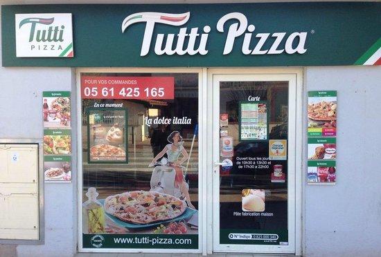 Tutti Pizza Saint Martin du Touch