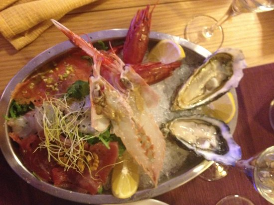 Il Pesce Fuor D' Acqua: Antipasto maxi crudi