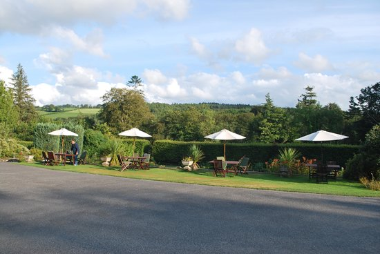 Lewtrenchard Manor: The views