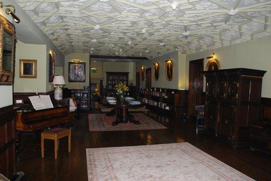 Lewtrenchard Manor: Upstairs hall