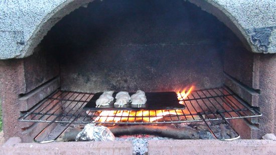 Agriturismo Alagna Farm Holiday: BBQ in de tuin