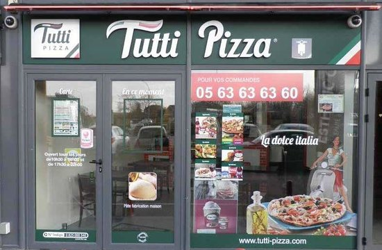 Tutti Pizza Montauban Linon