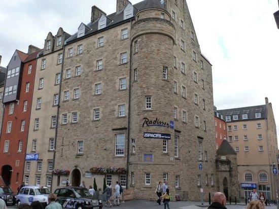 Radisson Blu Hotel, Edinburgh: Radisson Blu - loved it!