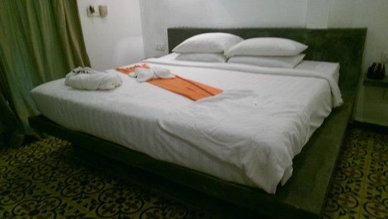 Raingsey Bungalow : double room