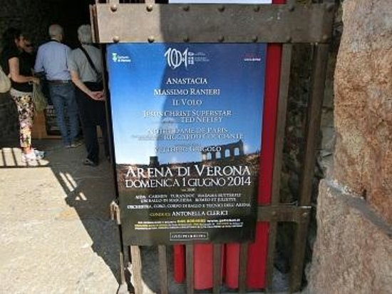 Arena di Verona: チケット販売