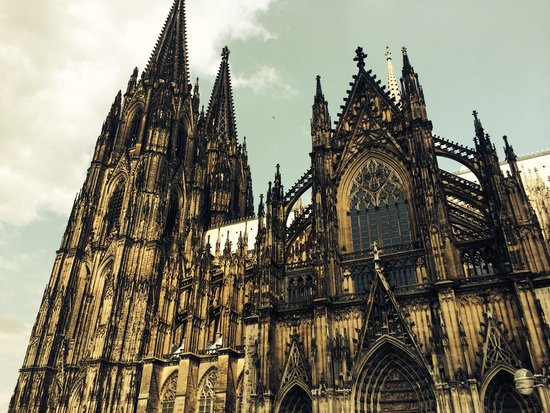 Kölner Dom: From outside