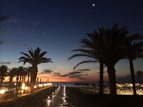 Scheherazade Hotel Sousse: sunrise