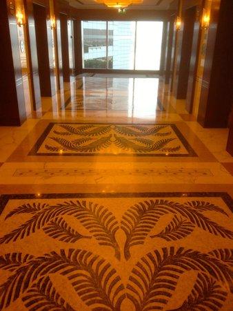 Grand Hyatt Dubai: Beautiful floors