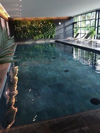 La Gree des Landes : piscine chaufée et couverte