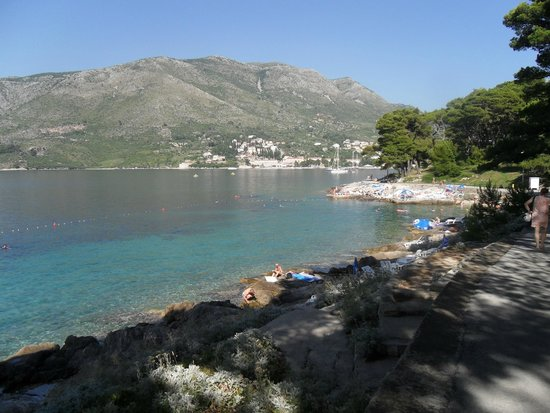 Hotel Cavtat: One of the bathing areas around Cavtat