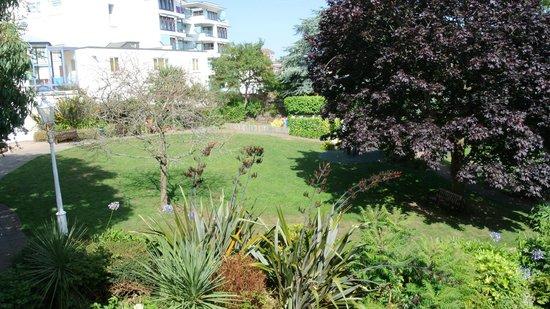Merton Hotel: View of garden from room