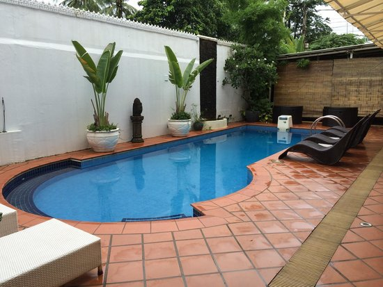 Coolabah Hotel: Kleiner Poolbereich im Innenhof